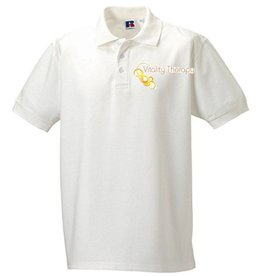 Vitality Therapy Mens Polo White