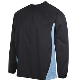BERFC Adults Training Windbreaker Navy/Sky