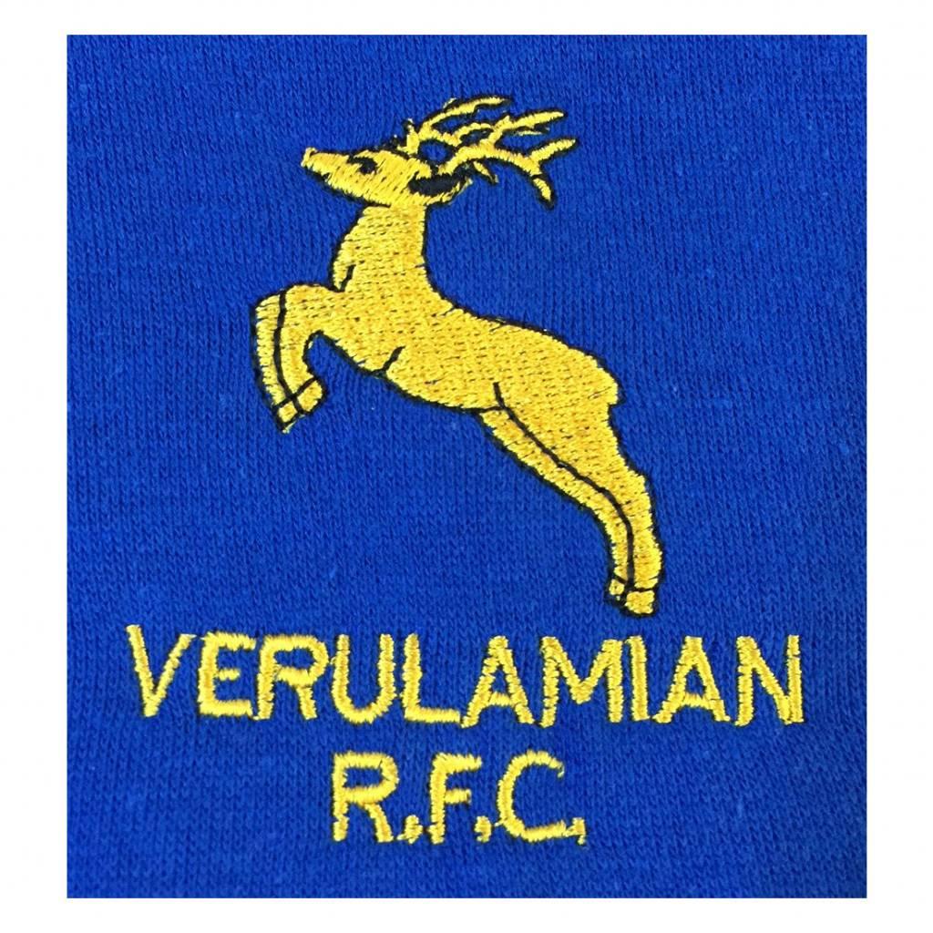 VRFC Junior Team Hoodie Royal/Yellow