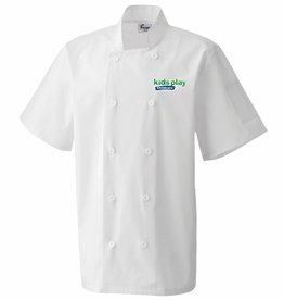 Premium Force Kids Play Adults Short Sleeve Chefs Jacket