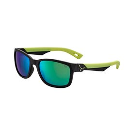 Cebe Kids Avatar Sunglasses Age 7-10 Satin Black/Lime