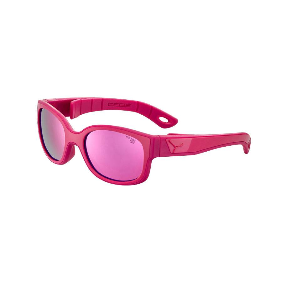 Cebe Kids S'Pies Sunglasses Age 3-5 Deep Pink