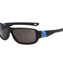 Cebe Kids Scrat Sunglasses Age 7-10 Matt Black/Blue