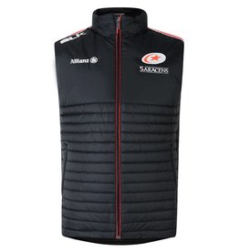 BLK Mens Saracens Players Gilet 17/18