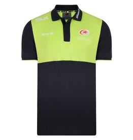 BLK Mens Saracens Coaches Media Polo 17/18