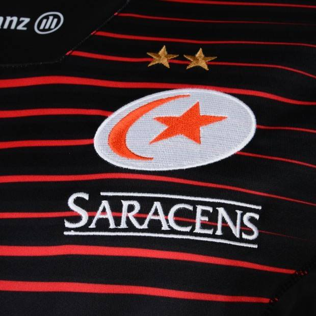 BLK Junior Saracens Replica Home Jersey 17/18