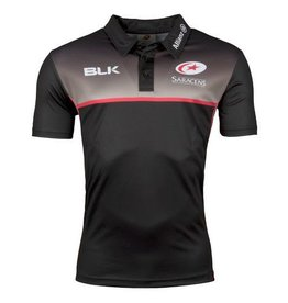 BLK Mens Saracens Players Training Polo 17/18