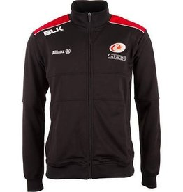 BLK Mens Saracens Players Travel Track Jacket 17/18