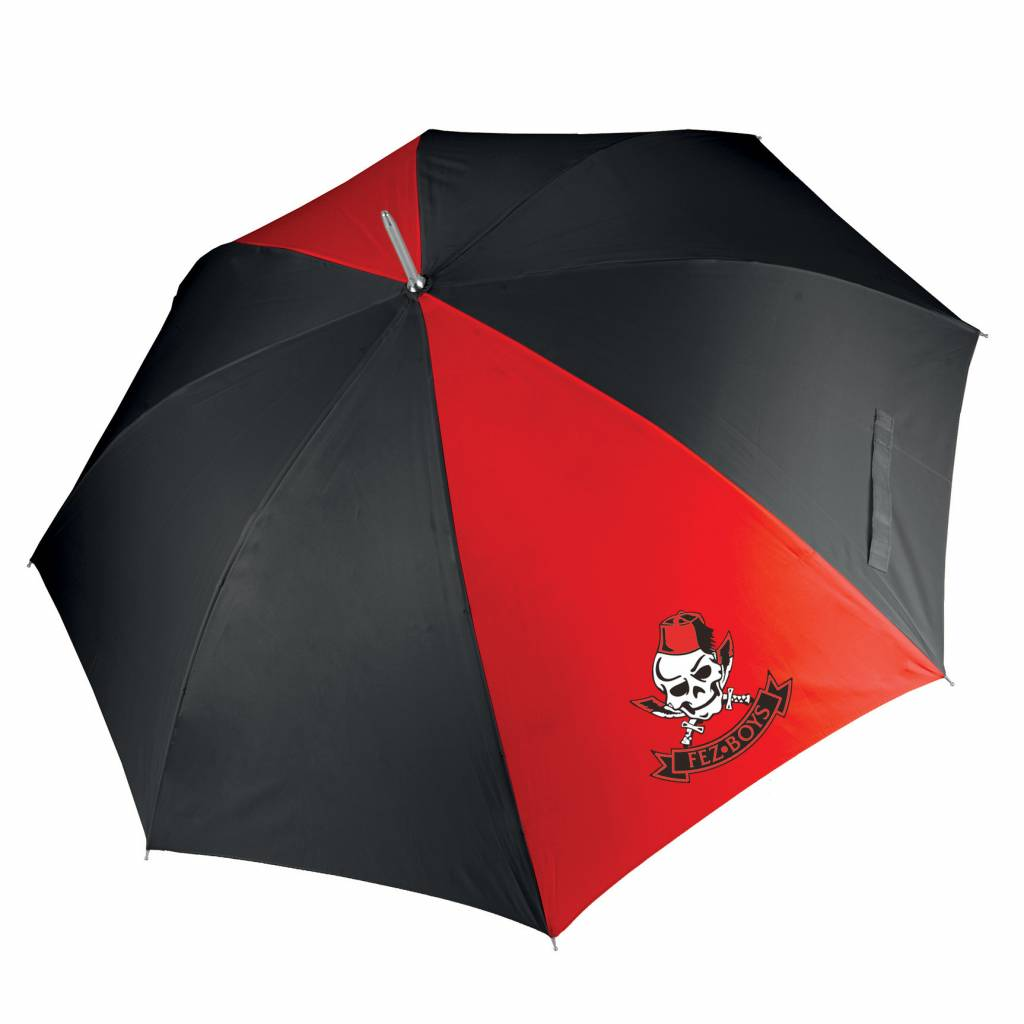 Premium Force Fez Boys Golf Umbrella Red/Black