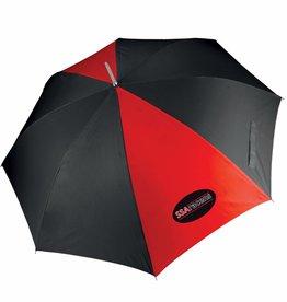 Premium Force SSA Golf Umbrella Red/Black
