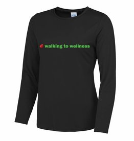 Premium Force Ladies Walking to Wellness L/S T Shirt