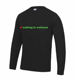 Premium Force Mens Walking to Wellness L/S T Shirt