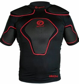 Optimum Junior Origin Protective Top Blk/Red