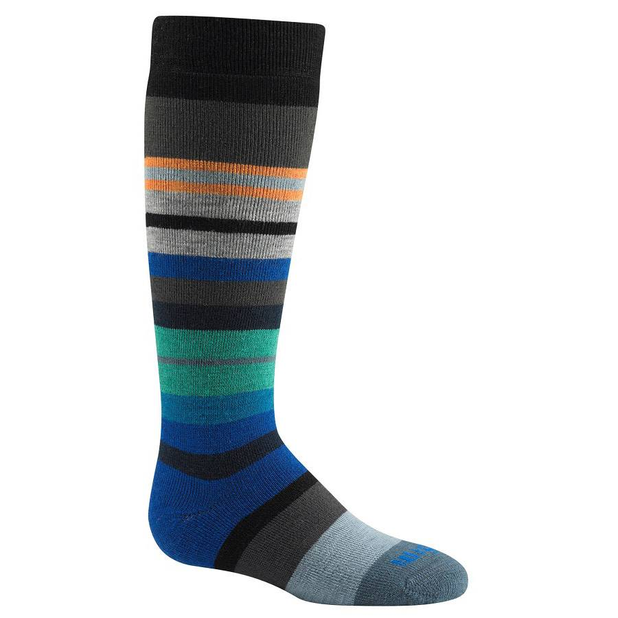 Wigwam Boys Snow Force Ski Sock Black