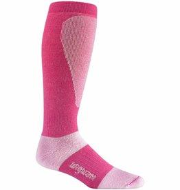 Wigwam Snow Sirocco Ski Sock Carmine Rose