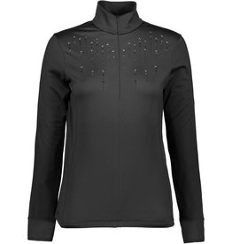 F.lli Campagnolo Ladies Carbon Jewelled Zip Top