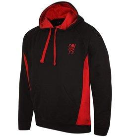 Premium Force Stopsley Striders Adults Hoodie Black/Red