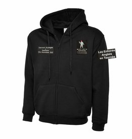 Premium Force Saracens v Clermont 2017 Zipped Hoodie