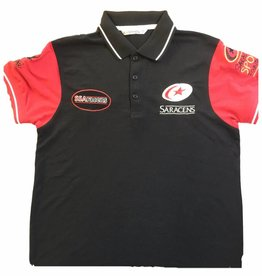 Premium Force Saracens 4 Logo Polo Shirt