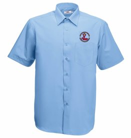 BERFC Short Sleeve Shirt Mid Blue