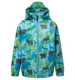 Kozi Kidz Kids Vinga Animal Rain Jacket Unlined