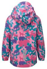 Kozi Kidz Kids Vinga Animal Rain Jacket Unlined