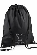 Watford RFC Gymsac Black