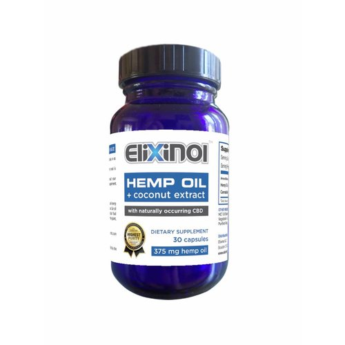 Elixinol CBD Olie 450 mg Capsules