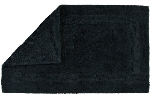 Cawö Badmat Reversible Zwart