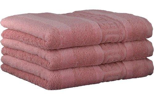 Cawö Noblesse Uni Badlinnen Antique pink