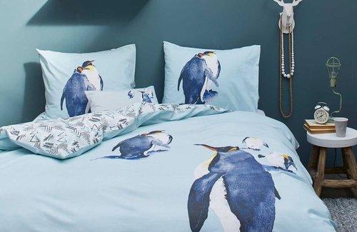 Covers & Co Dekbedovertrek Penguin 140x200/220 Multi