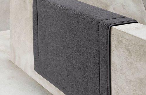 De Witte Lietaer Badematte Excellence Dark Grey