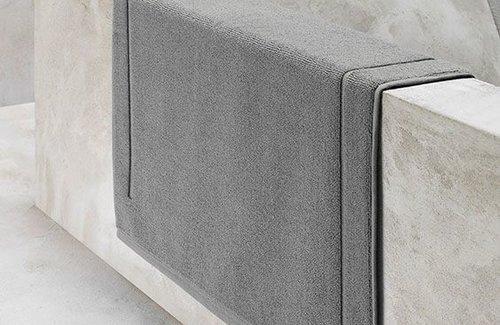 De Witte Lietaer Badematte Excellence Grey