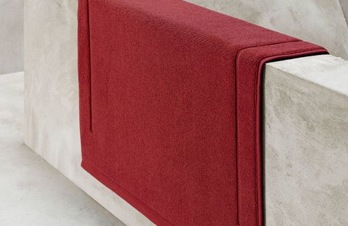 De Witte Lietaer Badematte Excellence Brick dk Red