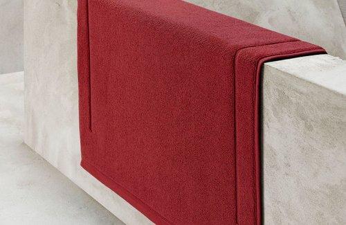 De Witte Lietaer Badmat Excellence Brick dk Red