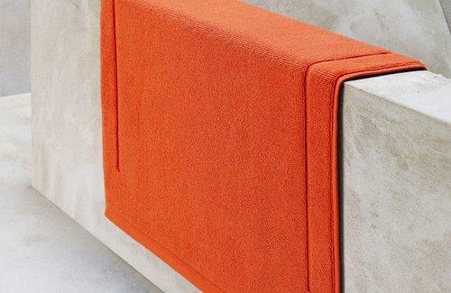 De Witte Lietaer Badematte Excellence Burnt Orange