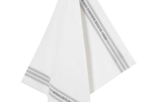 De Witte Lietaer Theedoek Dish 65x70 Grey