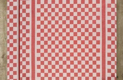 De Witte Lietaer Theedoek Groom 65x70 Red