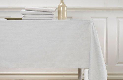 De Witte Lietaer Kalahari Tischwäsche Grey/White