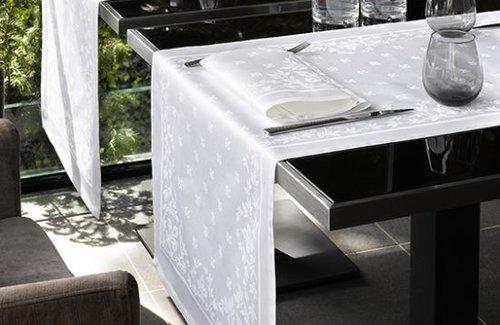 De Witte Lietaer Lilium Tischwäsche White