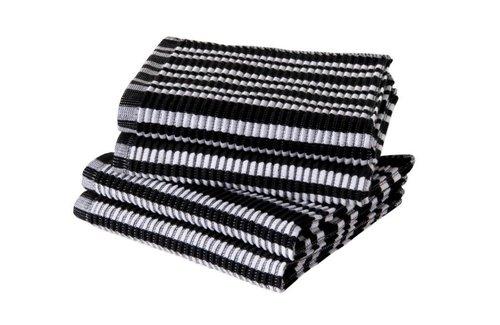Jorzolino Vaatdoek Basics 32x32 Black-White