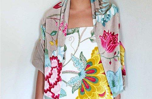 PiP Studio Floral Fantasy Badewäsche White