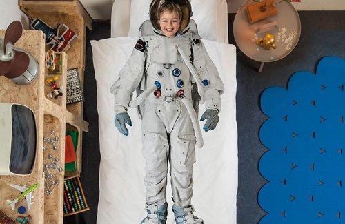 SNURK Astronaut Bettwäsche