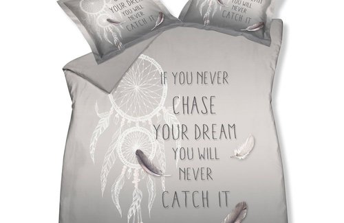 Vandyck Dekbedovertrek Dreamcatcher Cool Grey