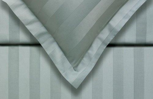 Vandyck Dekbedovertrek Purity 86 Stripe Celadon Green