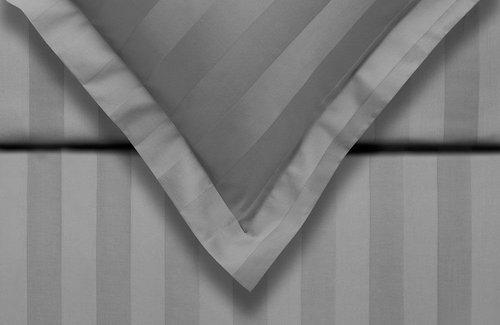 Vandyck Dekbedovertrek Purity 86 Stripe Grey