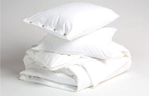 Yumeko Dekbedovertrek Jersey Pure White