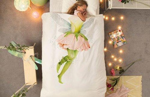 SNURK Fairy Dekbedovertrek White