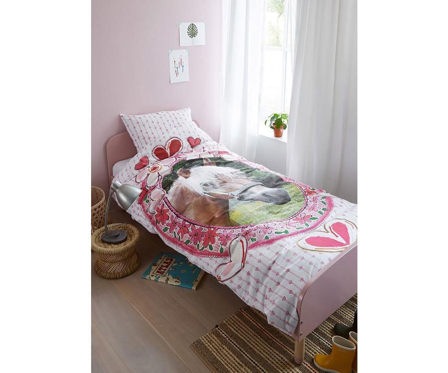 Licht Roze Dekbedovertrek : Beddinghouse favorites dekbedovertrek  roze linnenmode