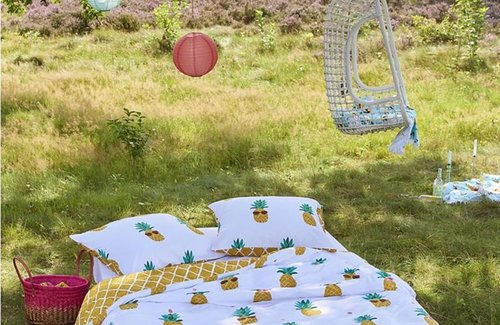 Covers & Co Pineapple Dekbedovertrek 140x200/220 Multi